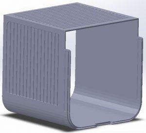 Katzenklappe CAD