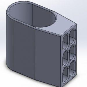 CAD Modell - Tischfuß