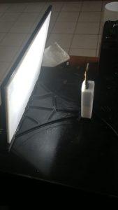 Lithophane mit Rahmen